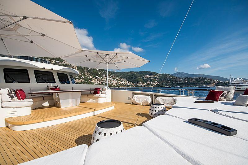 Quite Essential yacht foredeck