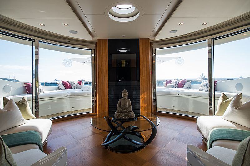 Quite Essential yacht lounge