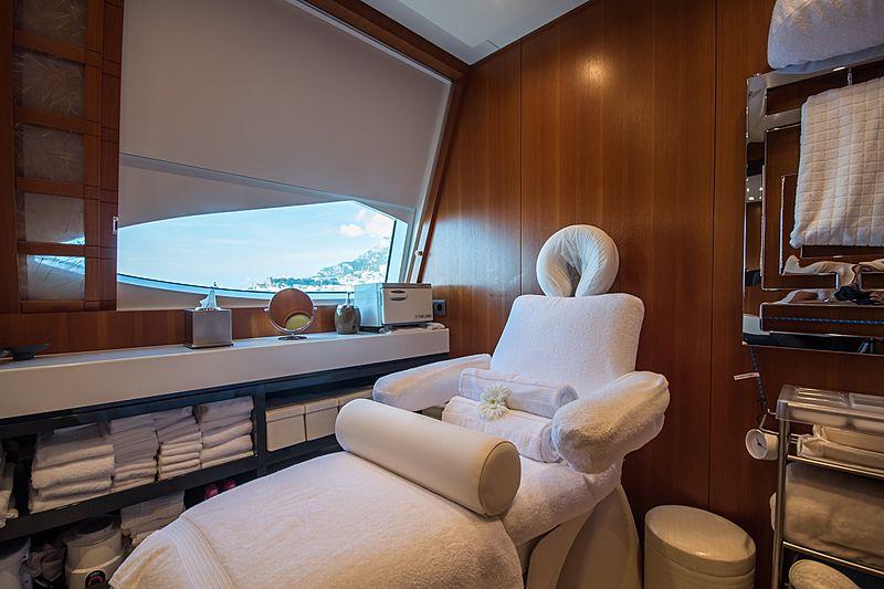 Quite Essential yacht spa