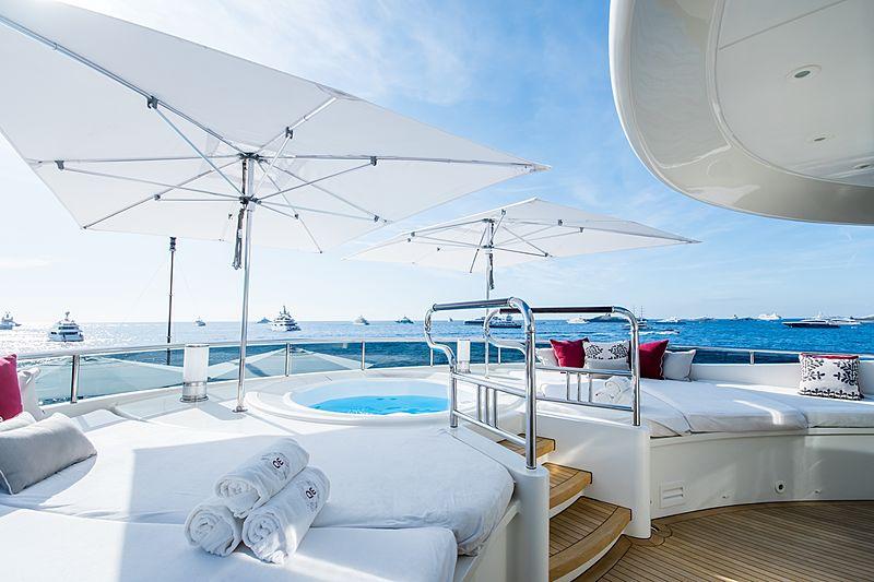 Quite Essential yacht sundeck