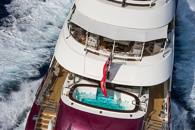 Quite Essential yacht aft decks