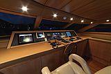 Panthours yacht wheelhouse