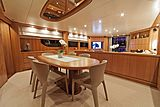 Panthours yacht dining table