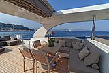 Panthours yacht sundeck