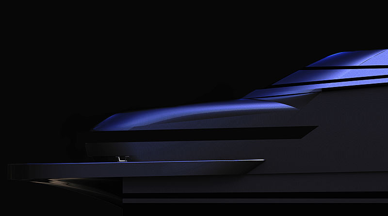 Pershing TØ yacht exterior design