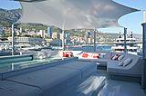Bold yacht sundeck