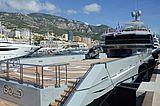 Bold yacht in Monaco