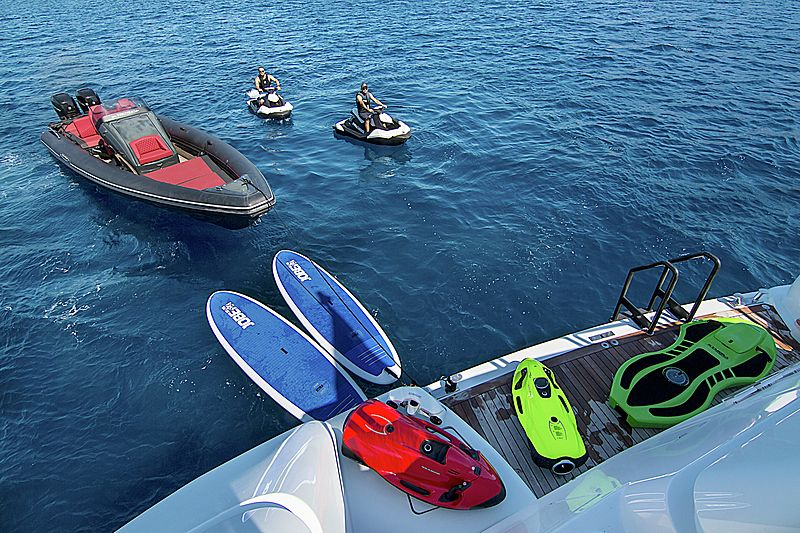 Invader yacht toys