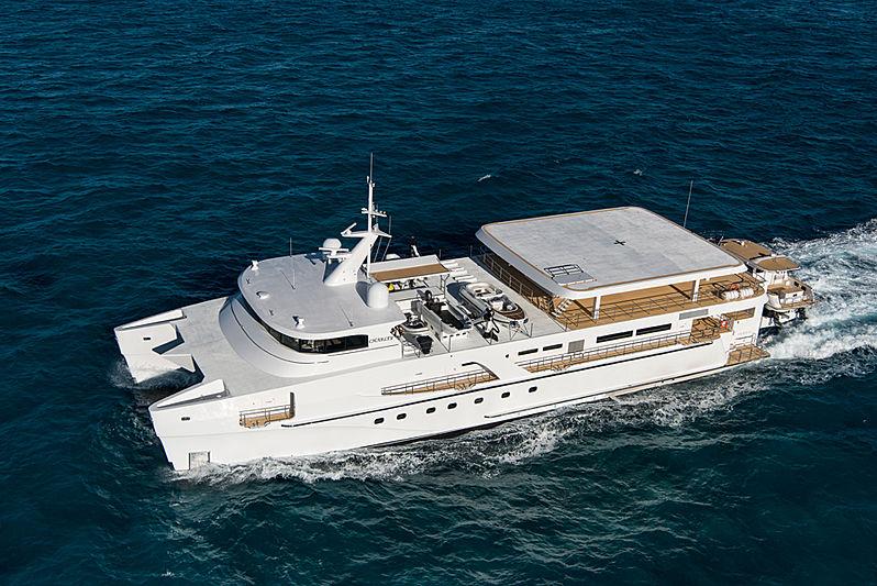 Charley yacht cruising