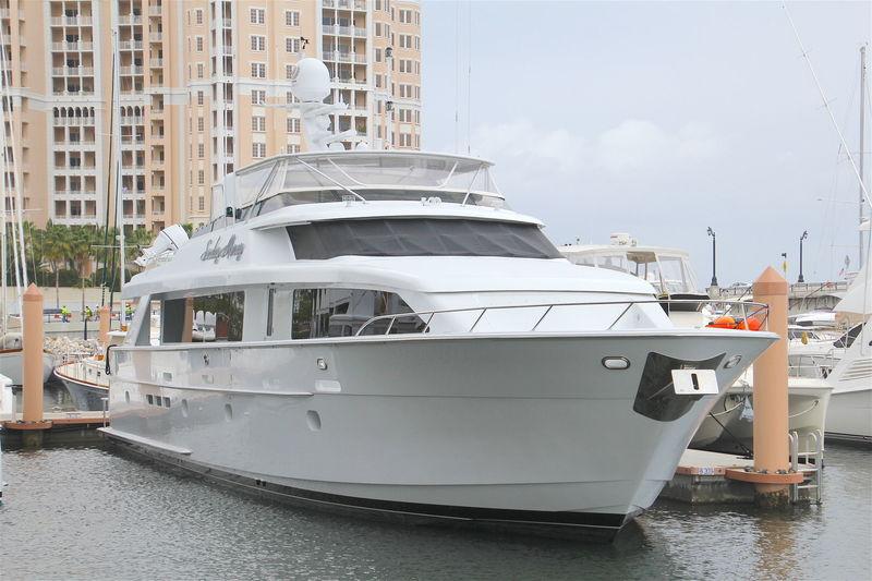 SUNDAY MONEY yacht Hatteras
