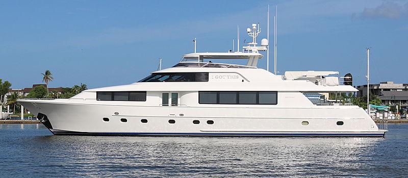 EVERGLADE yacht Westport