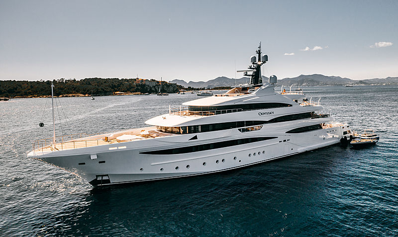 Odyssey yacht by CRN in Cannes