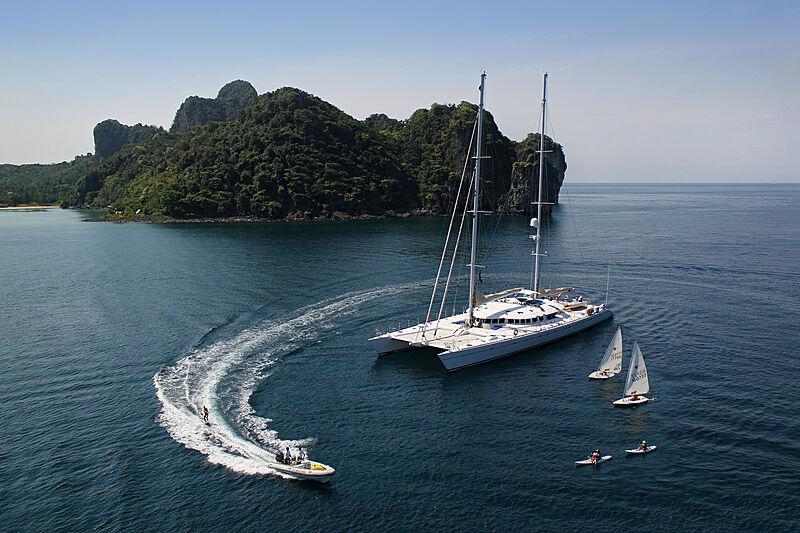 Douce France yacht sailing