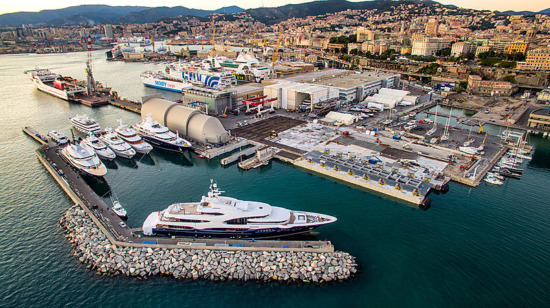 Amico & Co shipyard in Genova