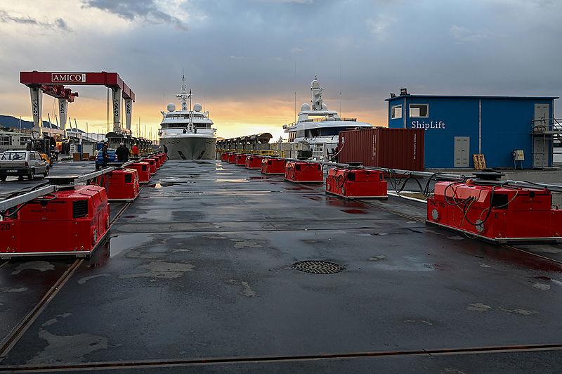 Amico & Co shipyard in Genova