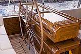 Wisp yacht cockpit
