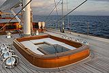 Wisp yacht deck