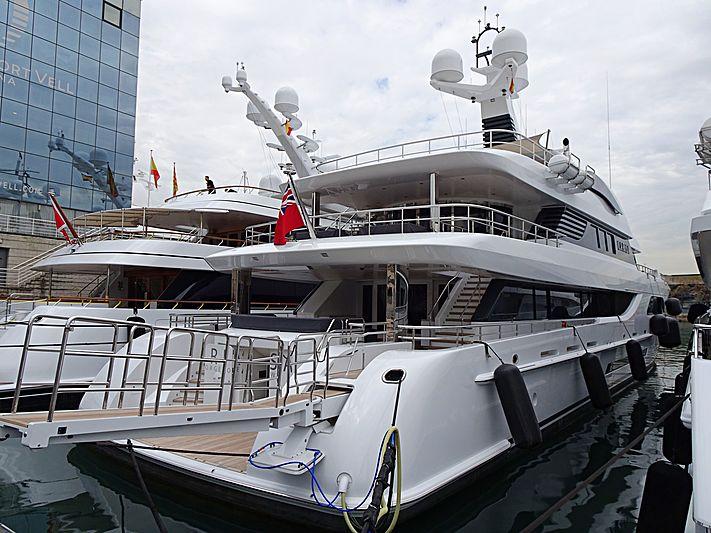 Larisa yacht in Barcelona