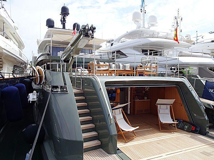 Moka yacht in Barcelona