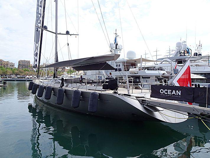 A Sulana yacht in Barcelona