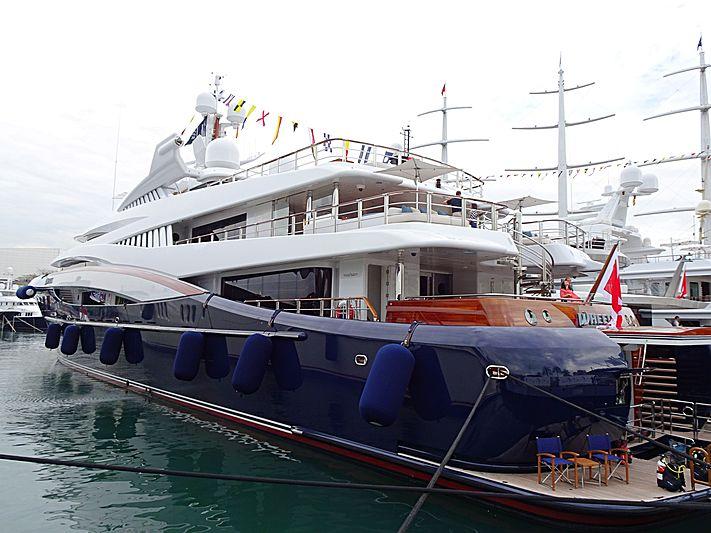 Wheels yacht in Barcelona