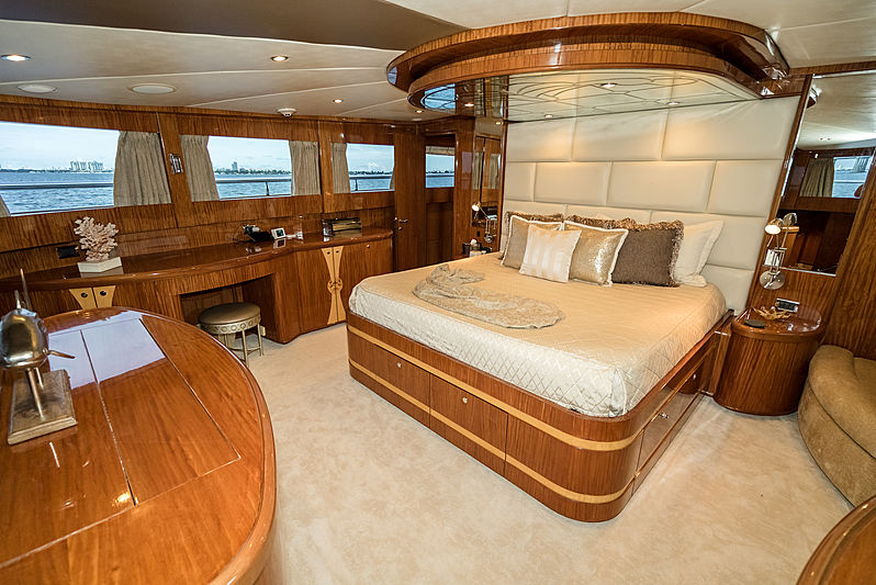 Illusion yacht stateroom
