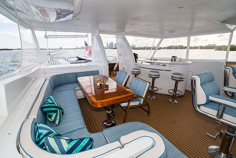 Illusion yacht sundeck
