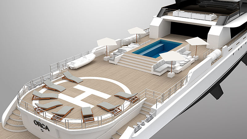 Orca yacht concept by Rosetti yachts