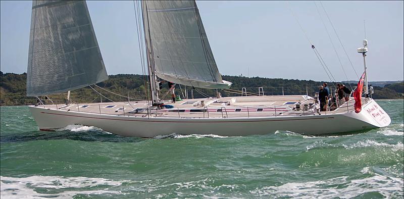 Island Fling yacht sailing