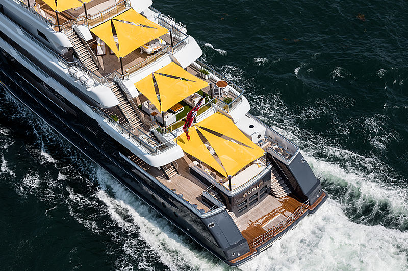 Scout yacht by Hakvoort
