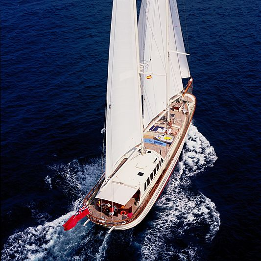 Tigerlily of Conrwall yacht sailing