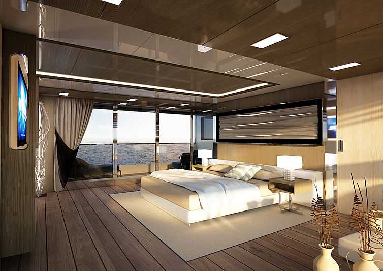 Reale Pacifico 32/01 yacht interior rendering