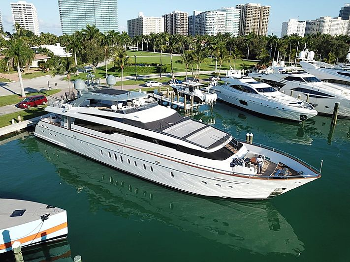 BAD ROMANCE IV yacht Sanlorenzo