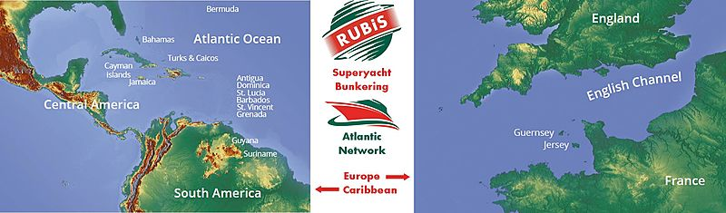 Rubis Atlantic Bunkering Network