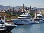 Faith yacht in Barcelona