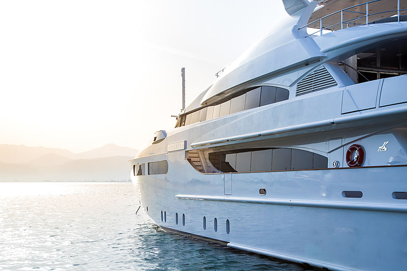 Magenta M yacht exterior