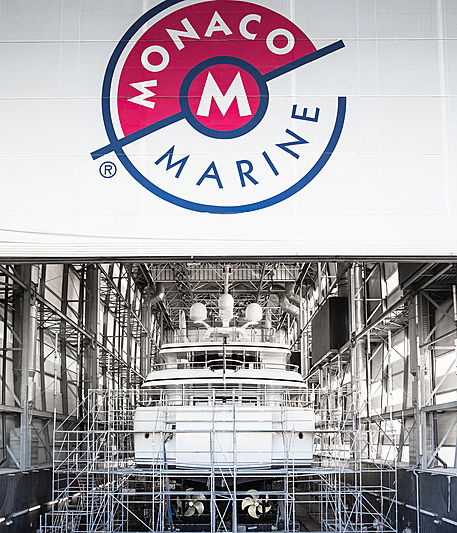 Monaco Marine shipyard marketing