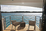 Imperial Princess Beatrice yacht balcony