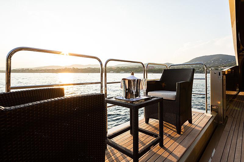 Hokulani yacht deck