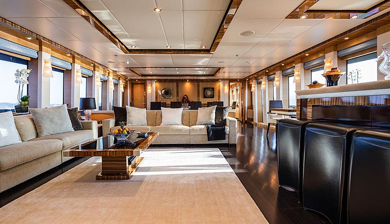 Hokulani yacht interior