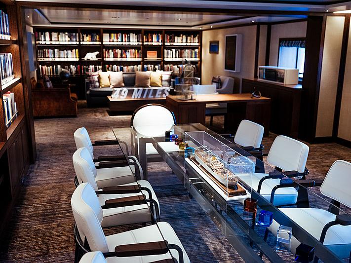 Planet Nine yacht dining