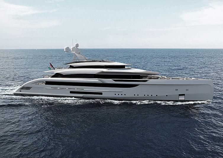 Blue Runner yacht by Marco Casalli