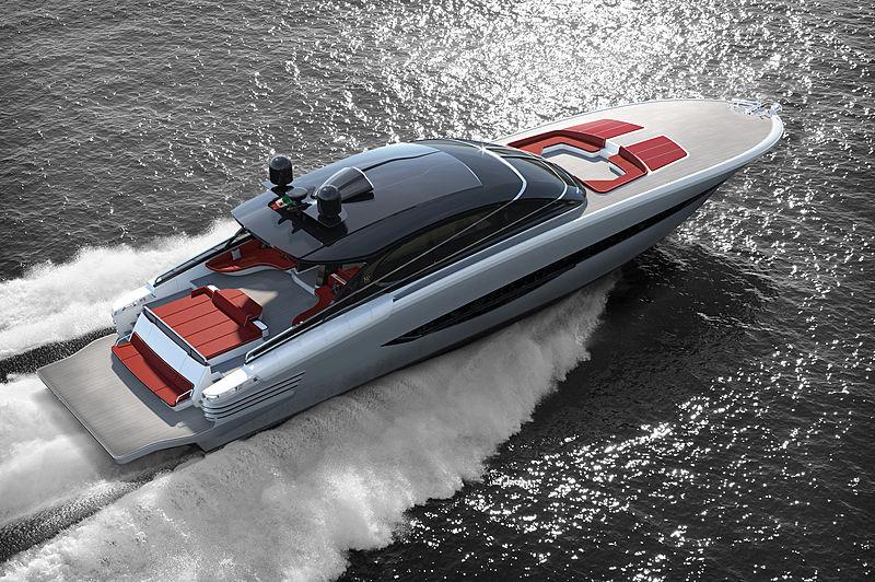ISA Super Sportivo 100GTO / 01 cruising render