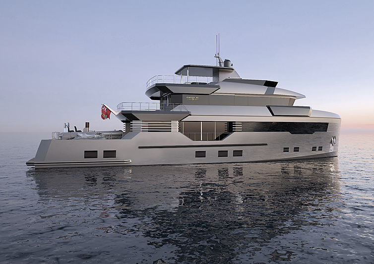 Reale Pacifico 32 exterior rendering