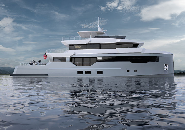 Reale Pacifico 32 / 01 exterior rendering