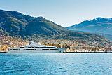 Maryah yacht in Porto Montenegro