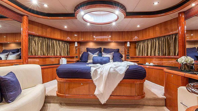 Top Gun yacht stateroom