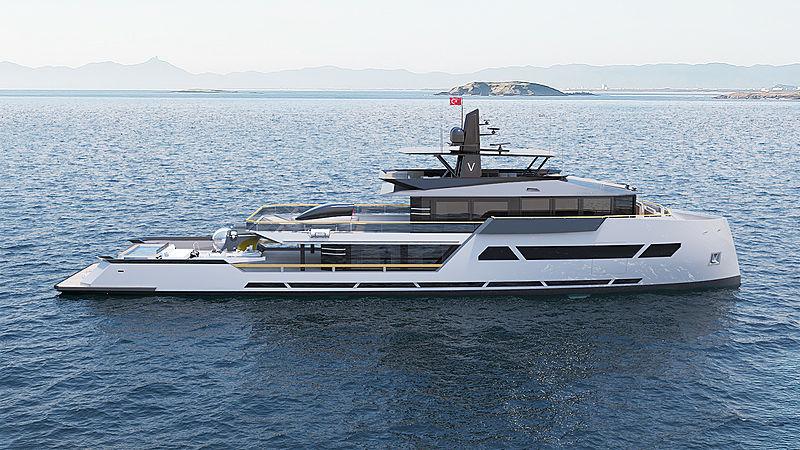165 Viatorem Explorer yacht concept