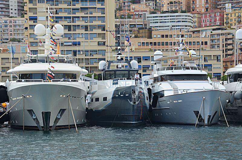 Joy Rider yacht in Monaco