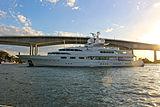 Dancing Hare yacht in Brisbane